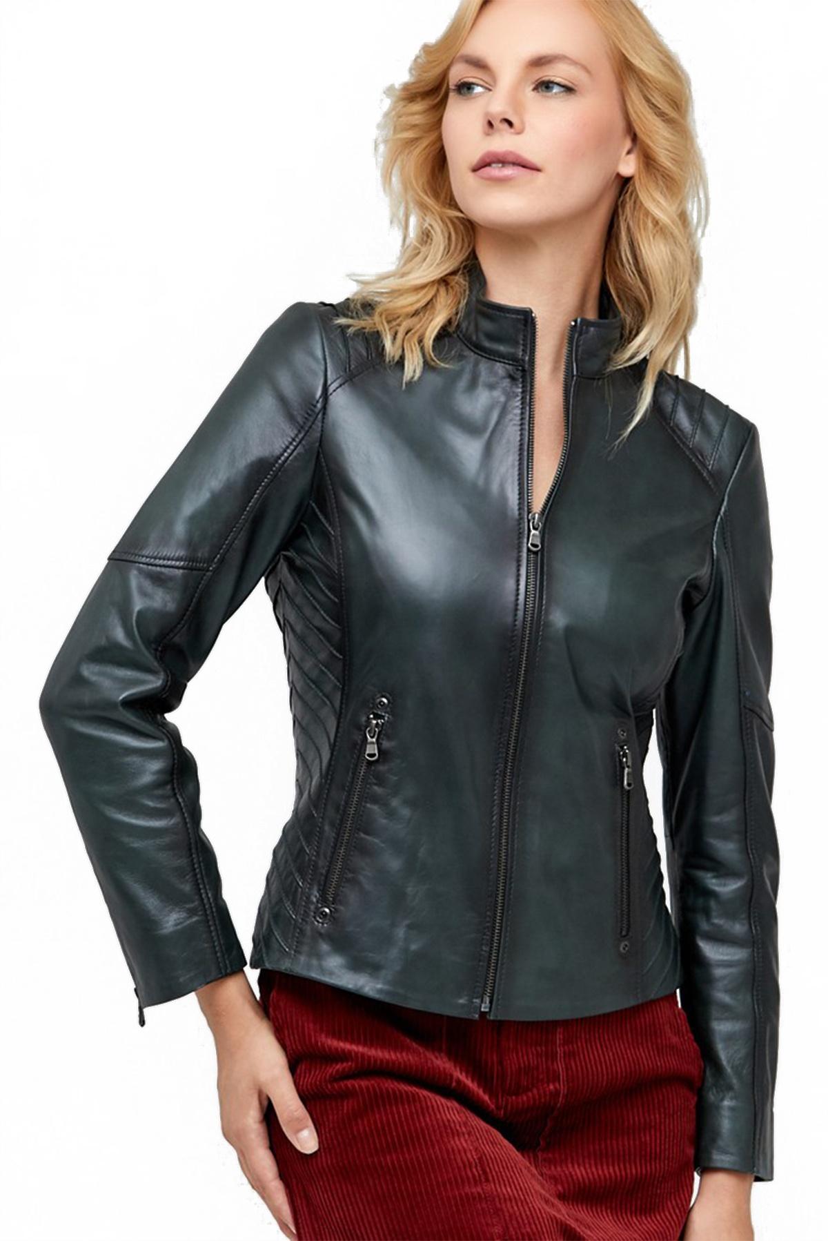women's leather jacket uk