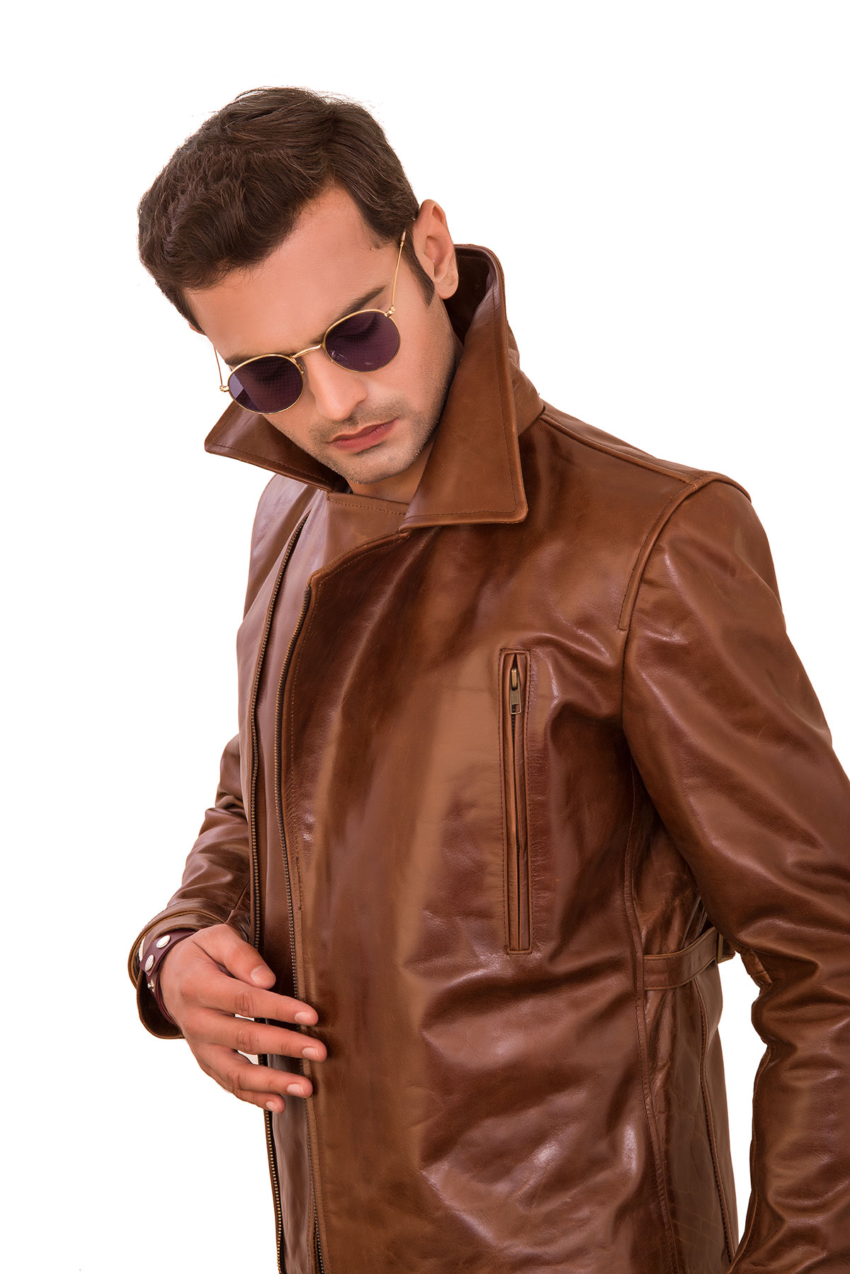 mens lambskin leather jacket outfit