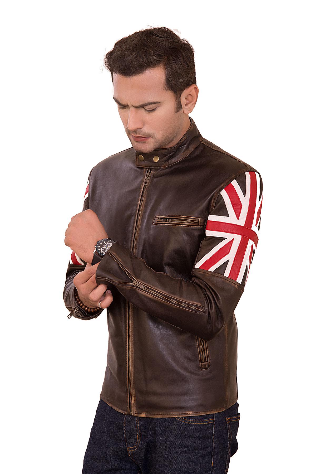 motorcycle racing leather jacket