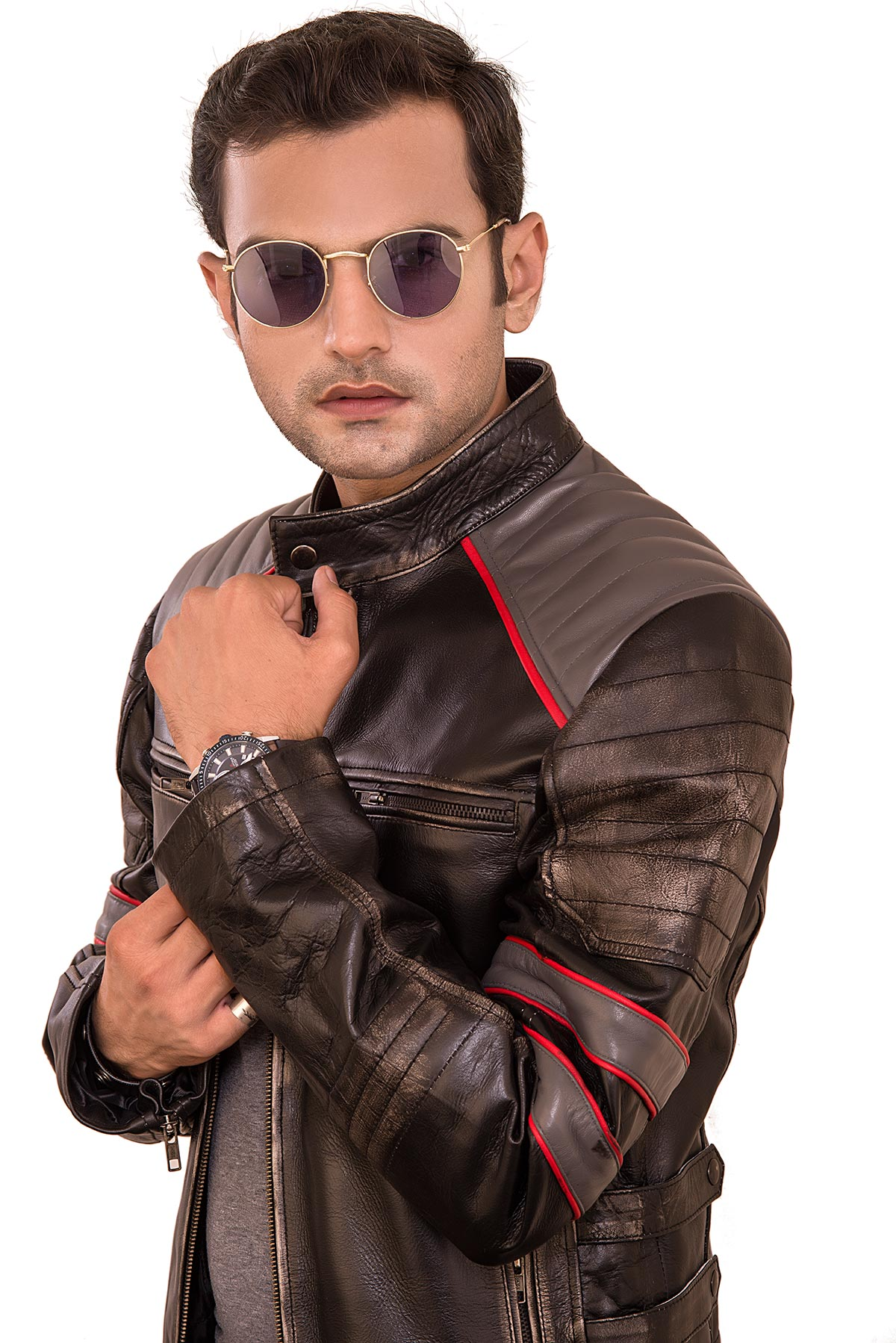 mens leather motorcycle jackets