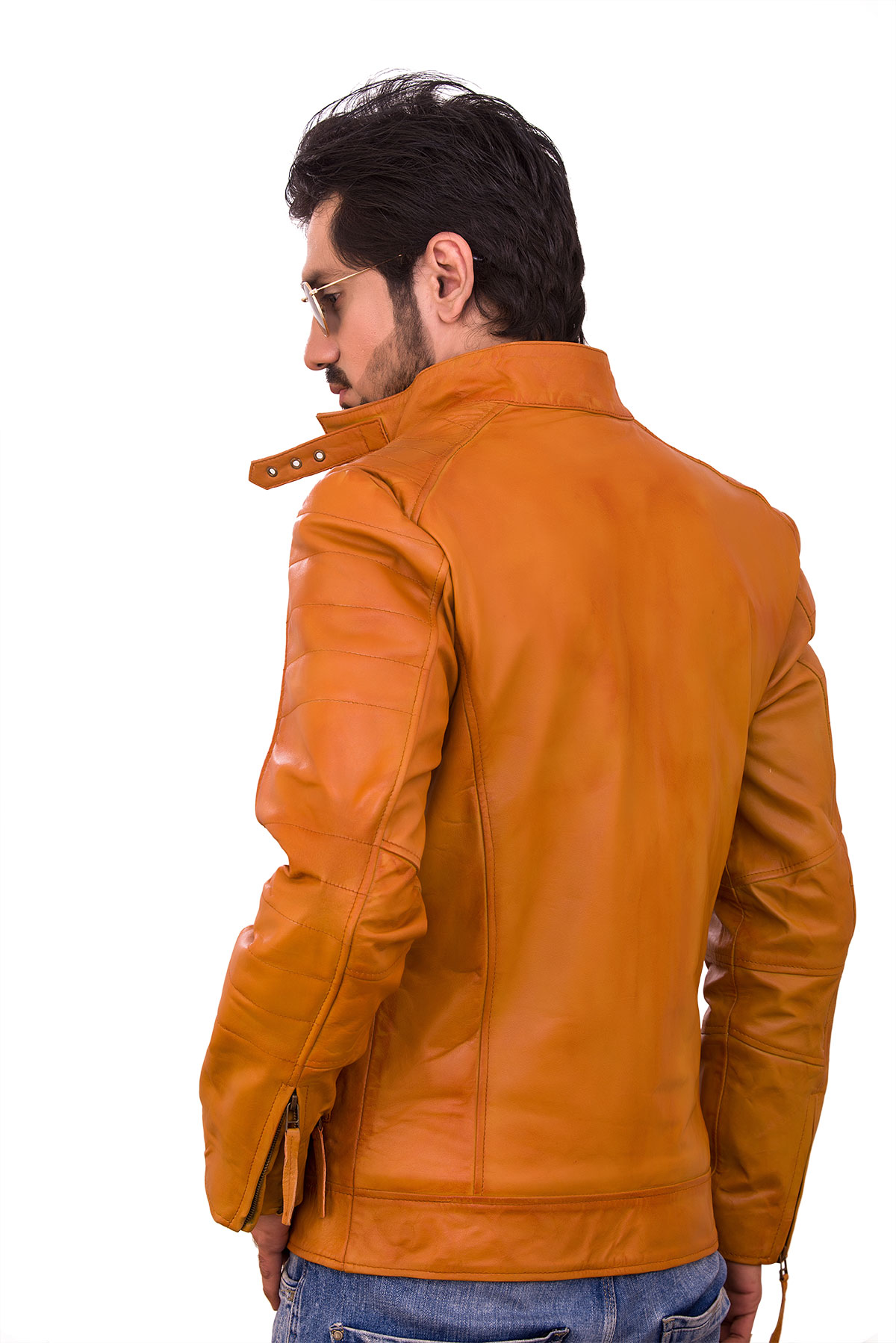 cafe racer jacket leather