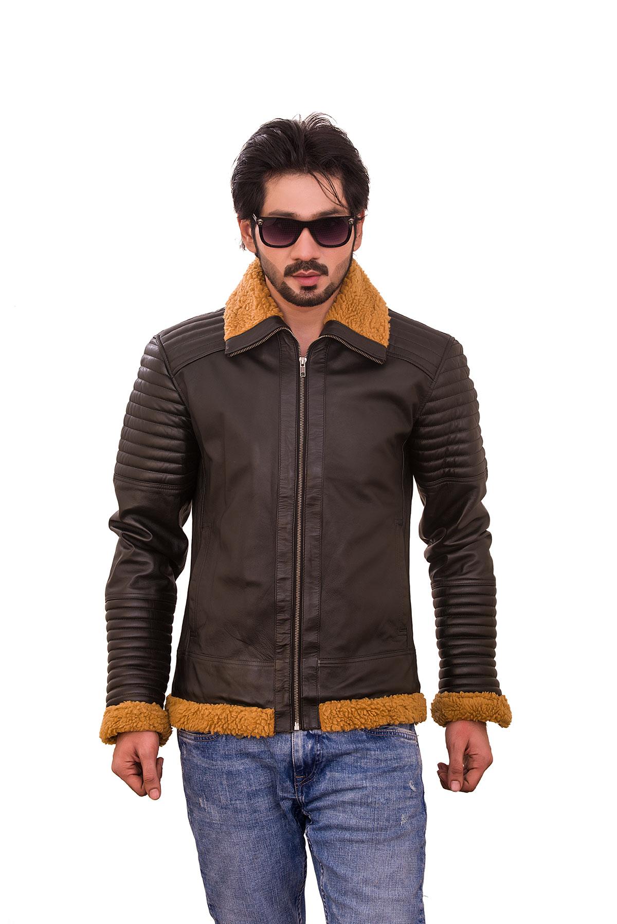 brown cafe racer jacket