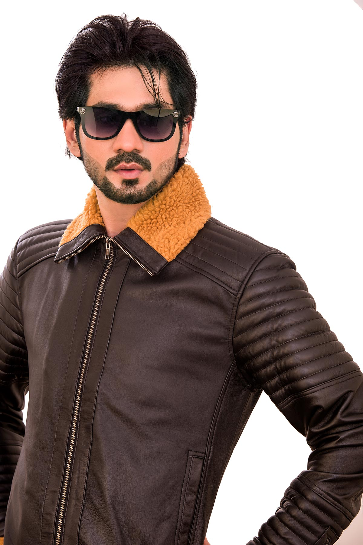 men's fashion 2021 leather jacket