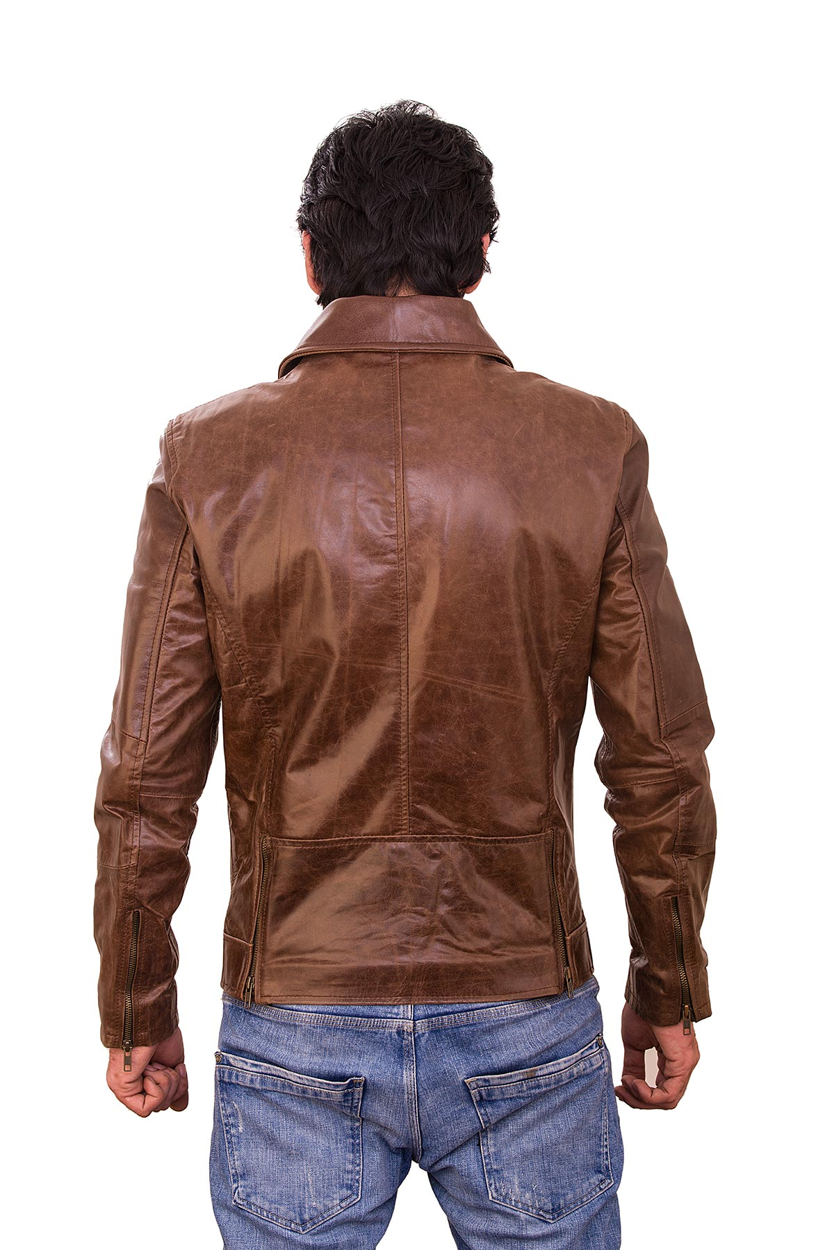 racing leather jacket vintage