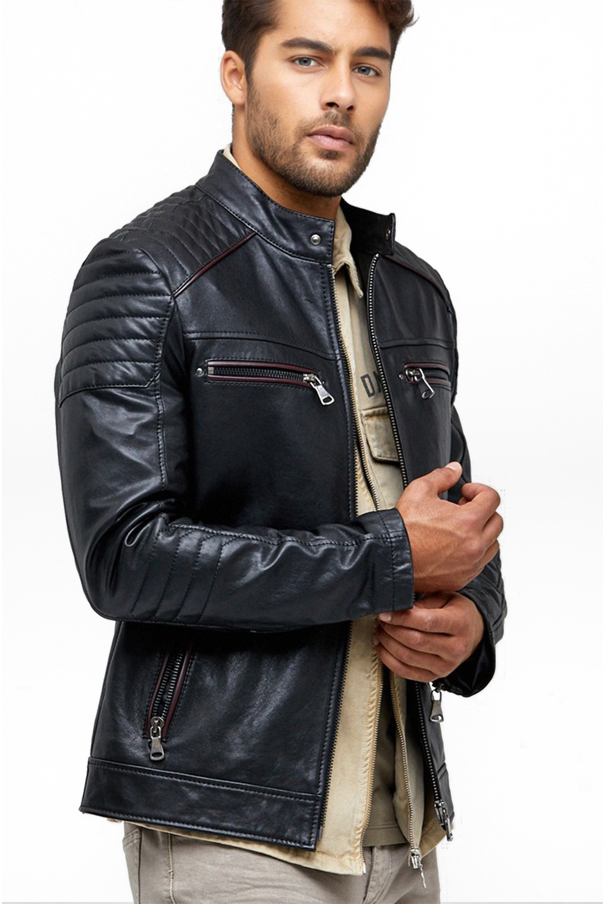 us air force pilot leather jacket