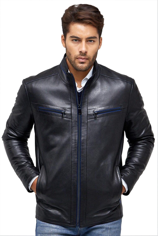 full grain cowhide leather jacket