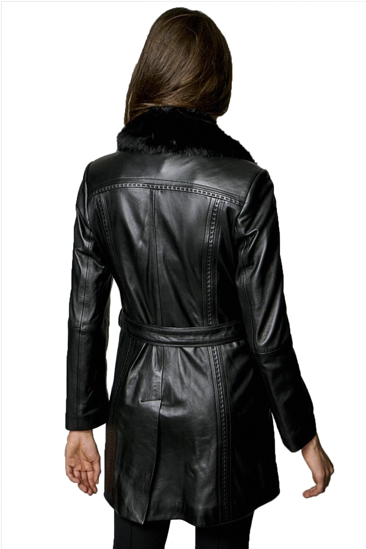 cow skin leather jacket