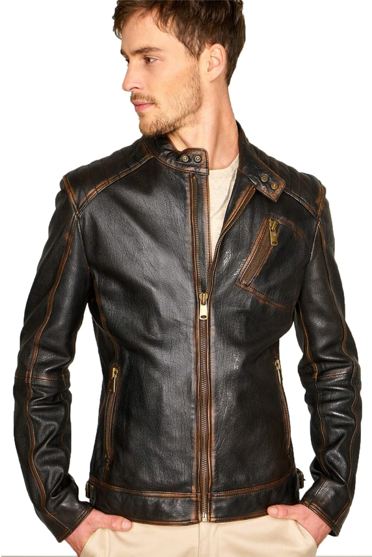 moto jacket men