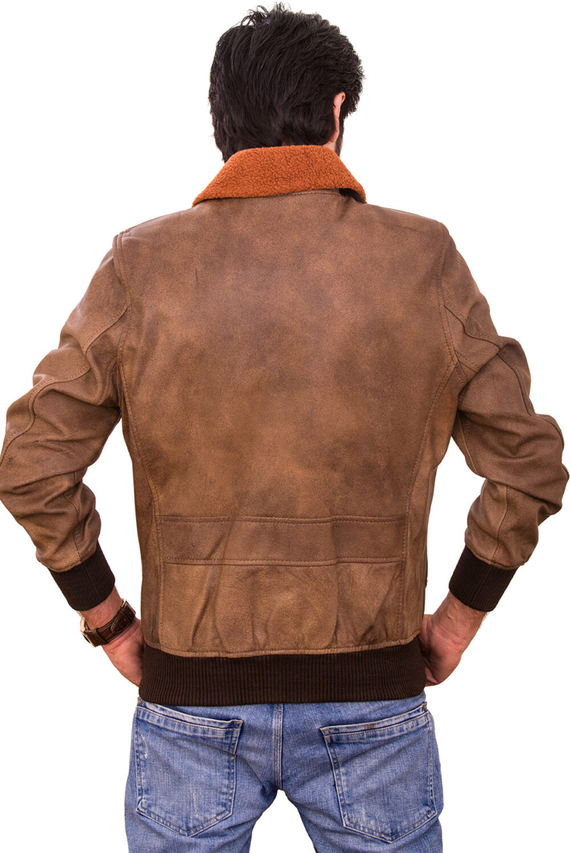 military inspired flight jackets