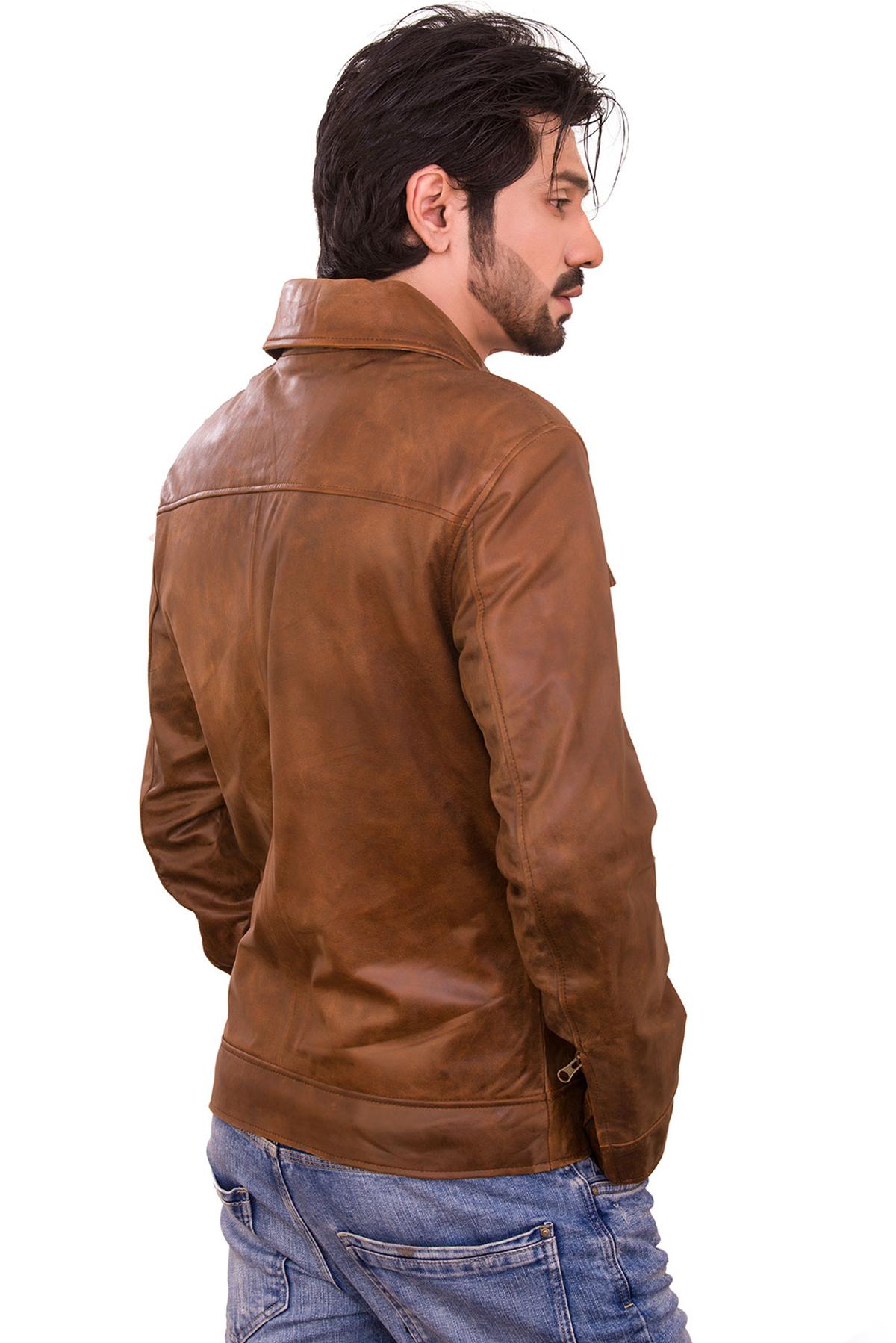 leather jacket dress