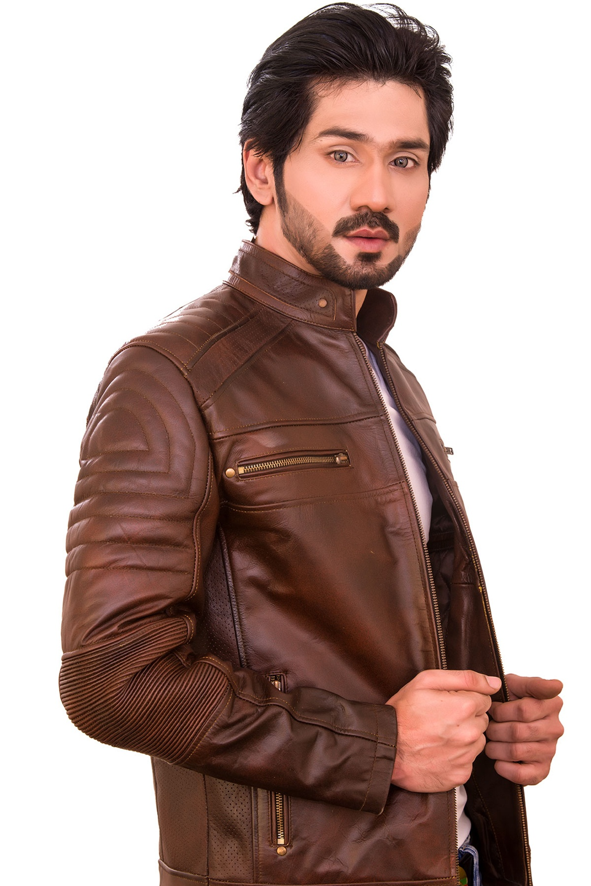 genuine leather jacket mens canada