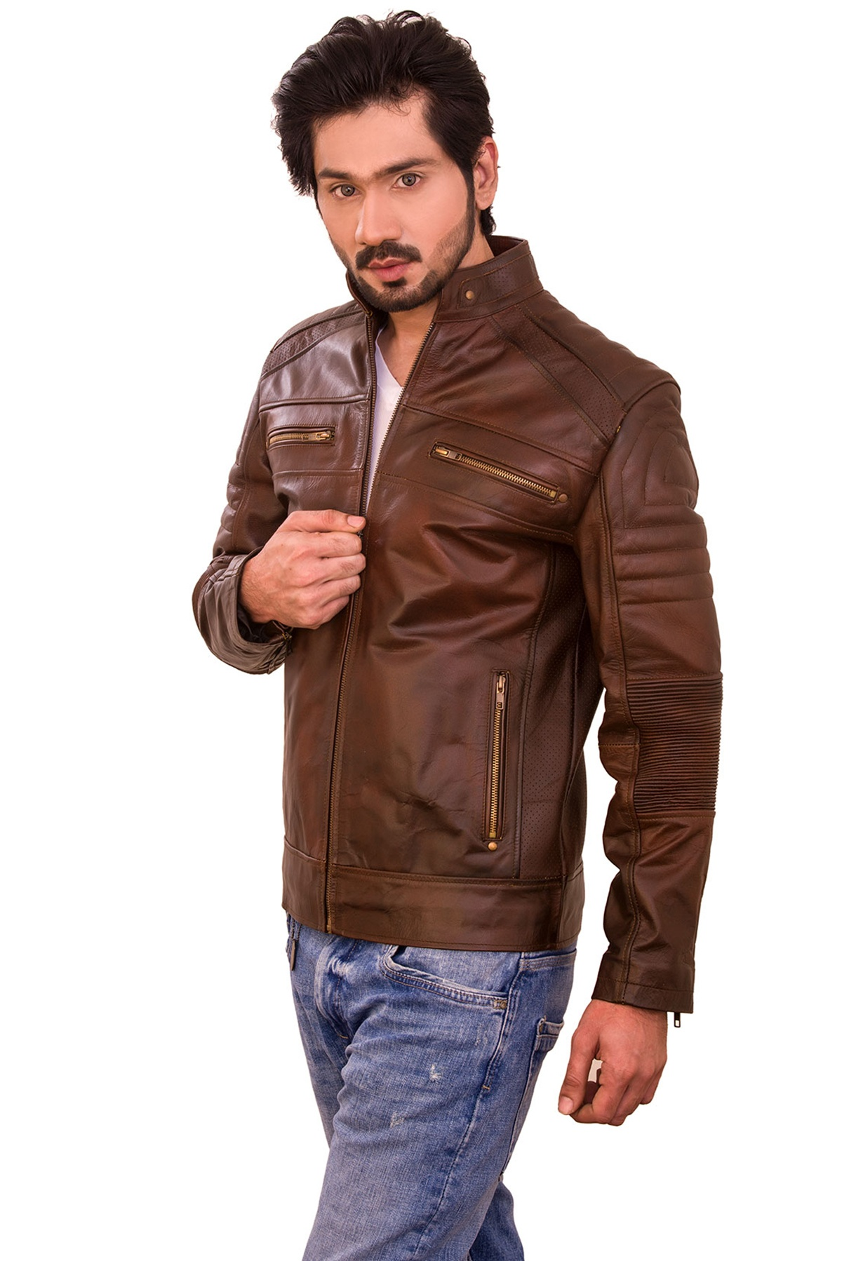 genuine leather jacket mens tommy hilfiger