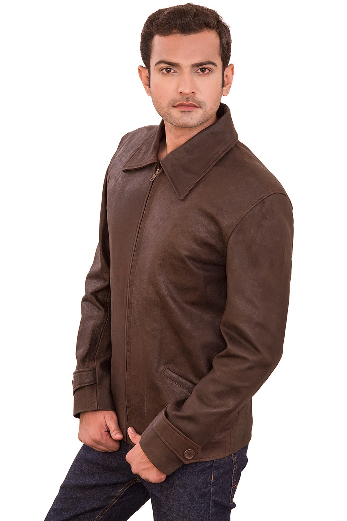 all saints leather jacket mens