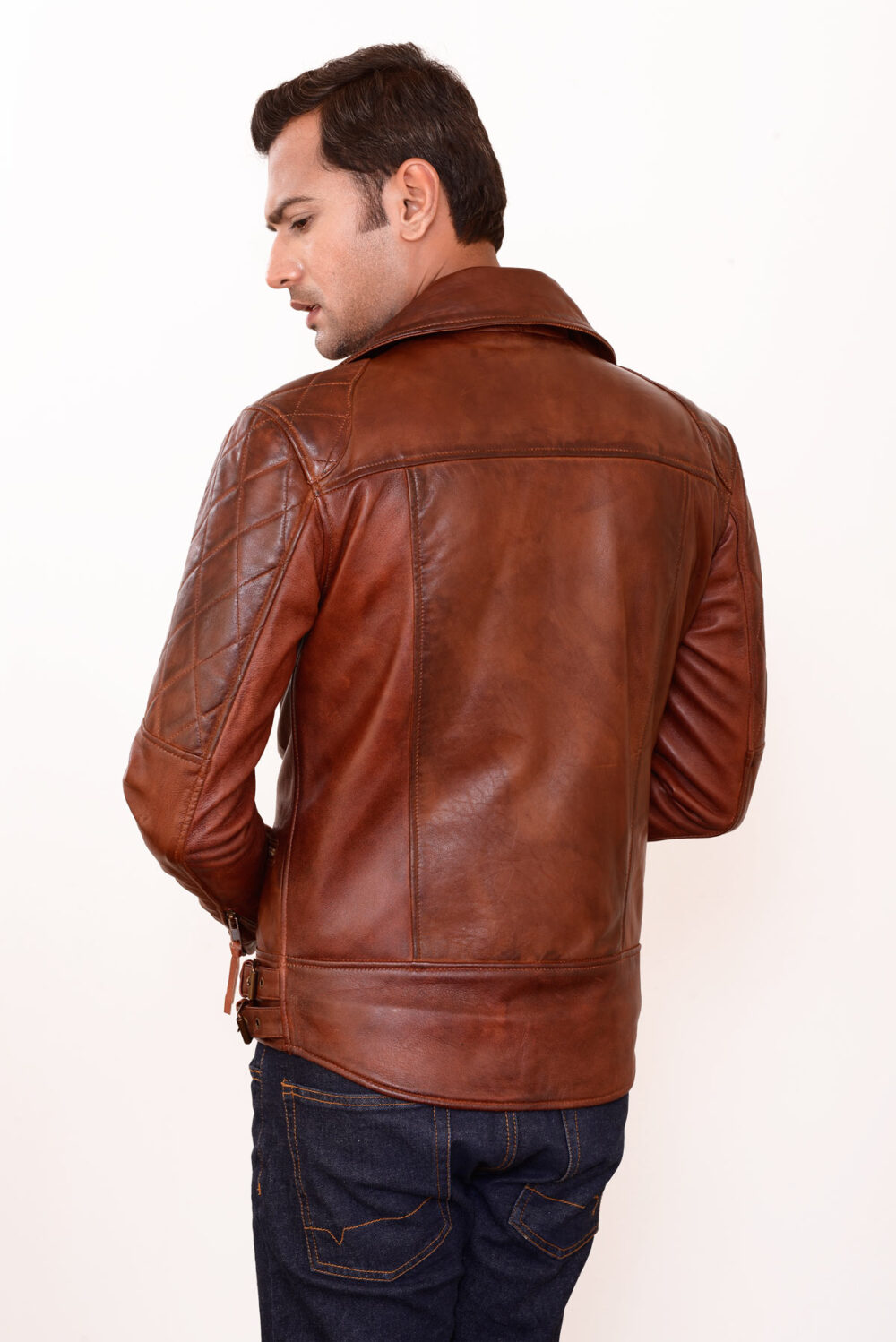 how to clean genuine leather jacket