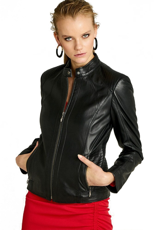genuine leather jacket online india
