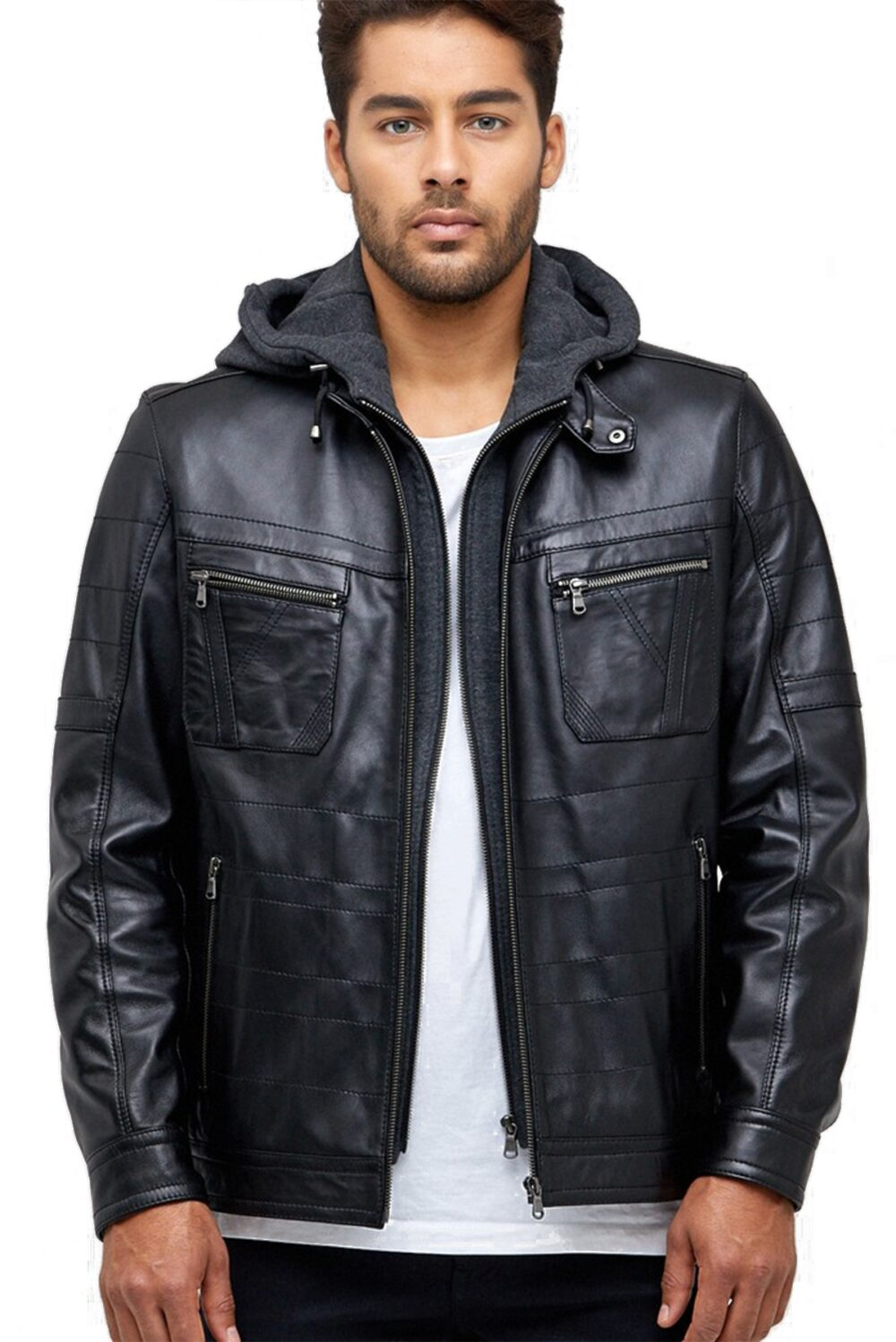 real leather jacket mens