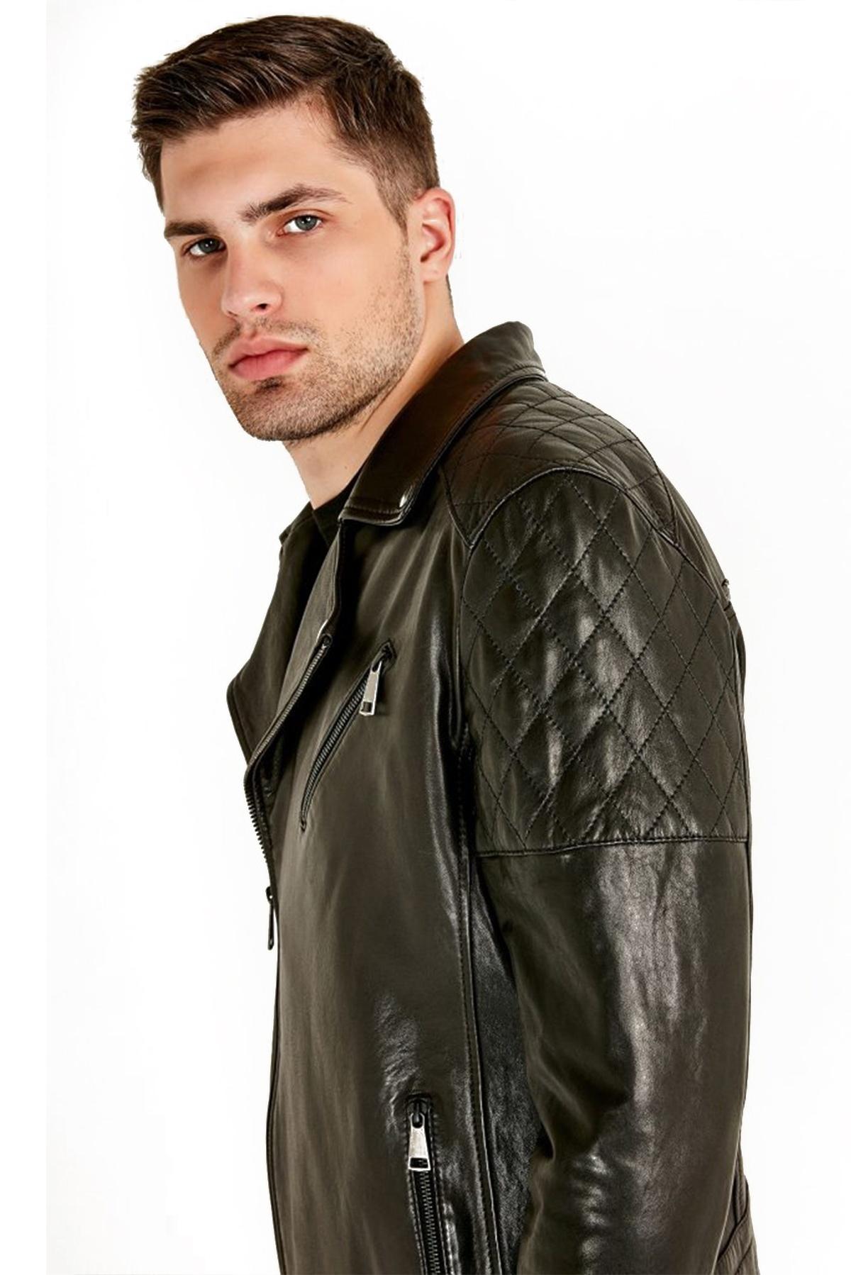 guys leather jacket