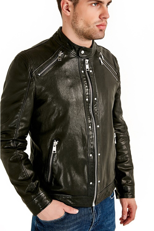Best westbrook black leather jacket