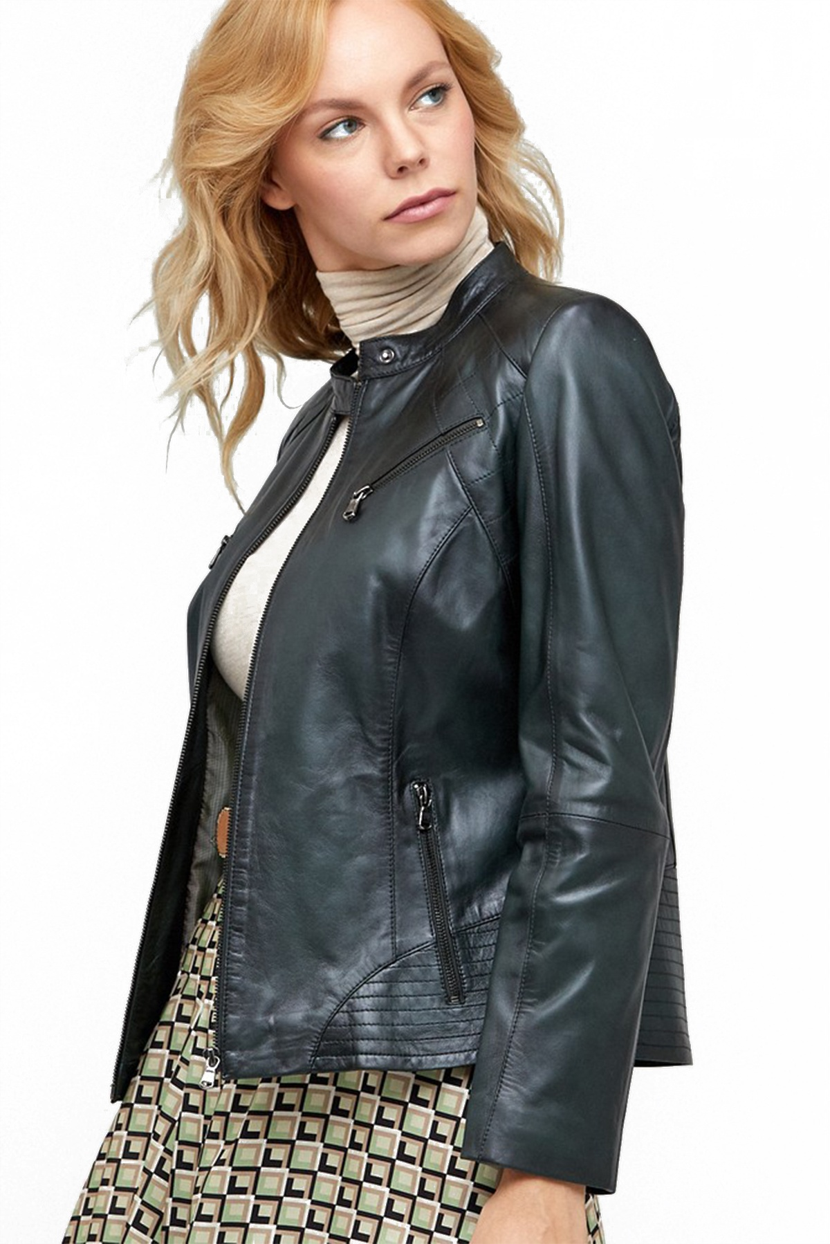 how to wash genuine leather jacket