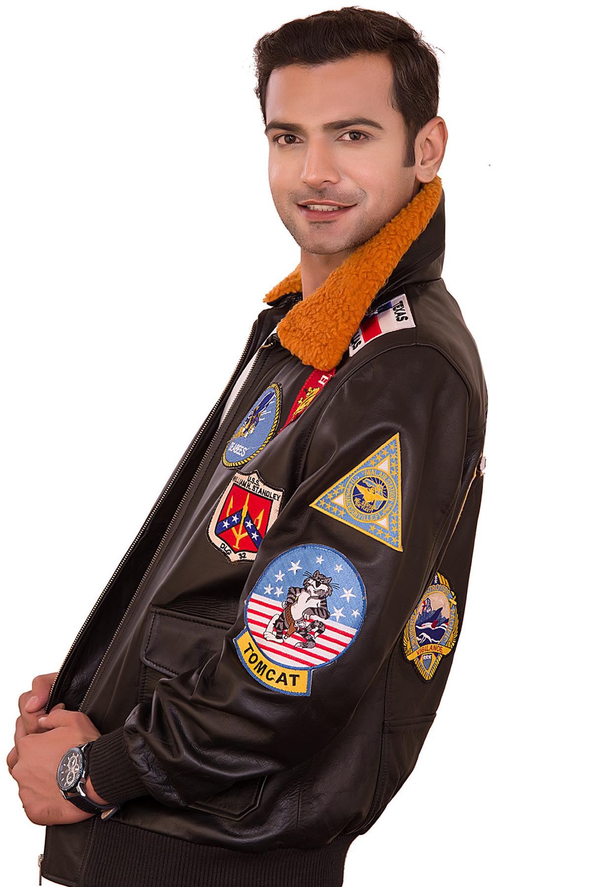 best pilot leather jacket