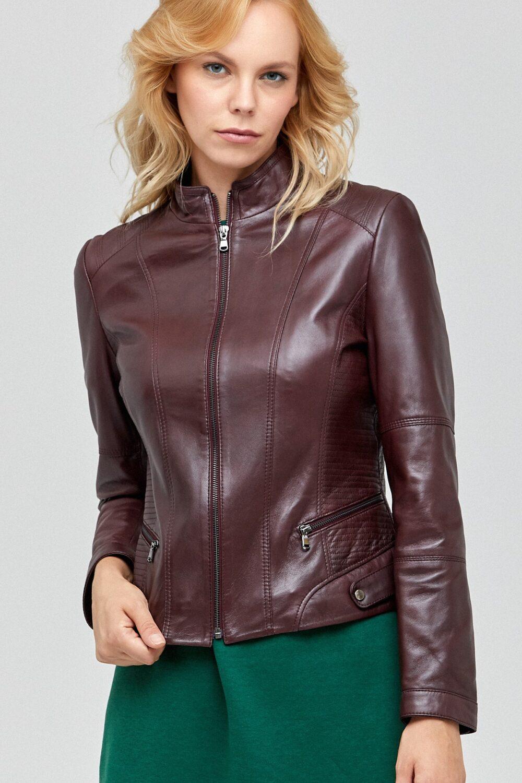 genuine leather jacket womens