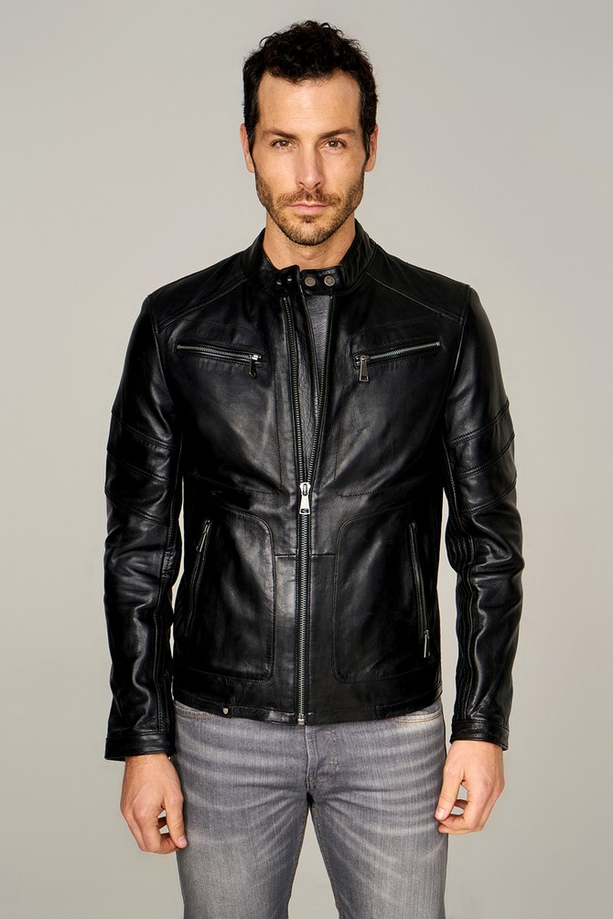 acne studios leather jacket review