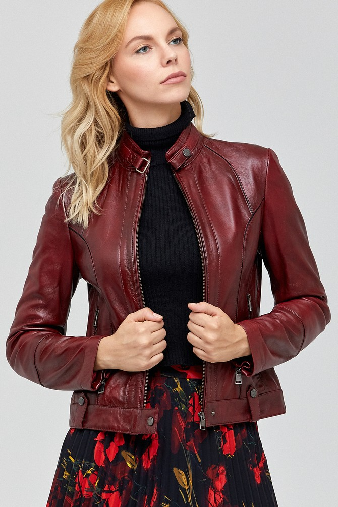 Irma leather jacket for sale