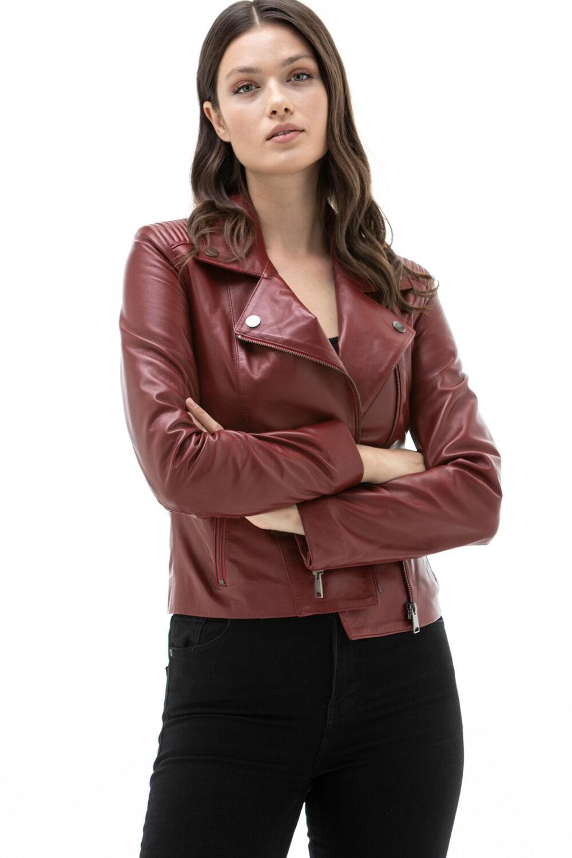 Real Soft Leather Biker Jacket