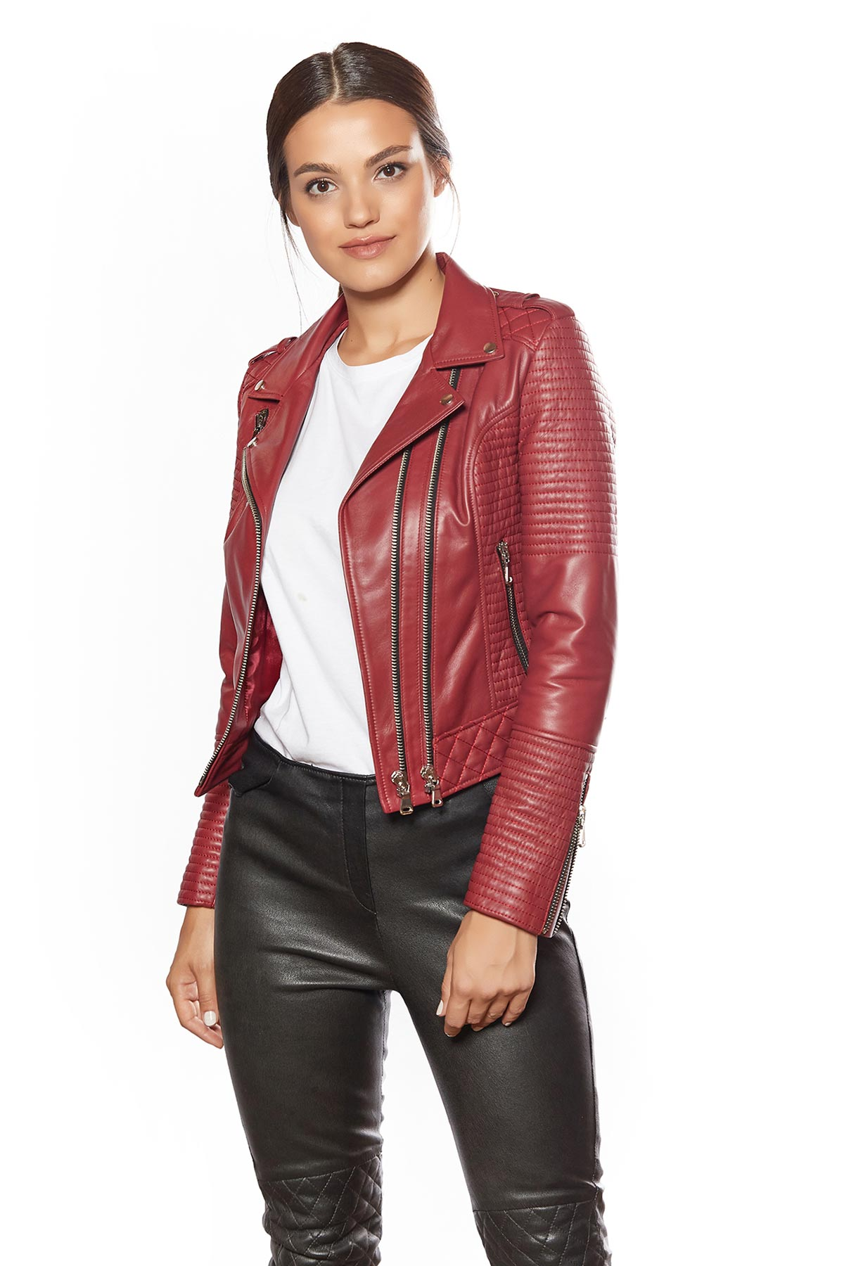 inexpensive leather jackets