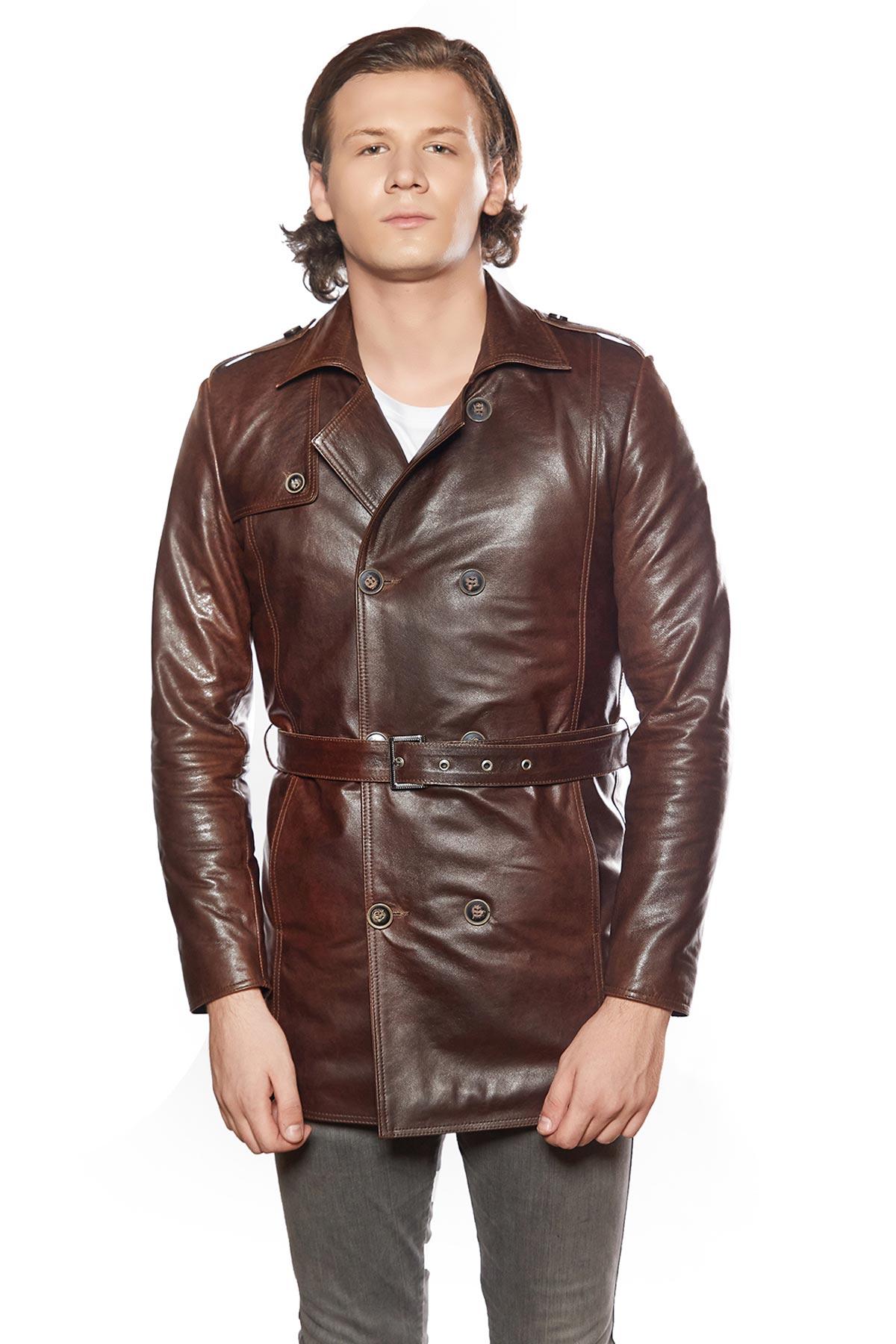 fluffy leather jacket
