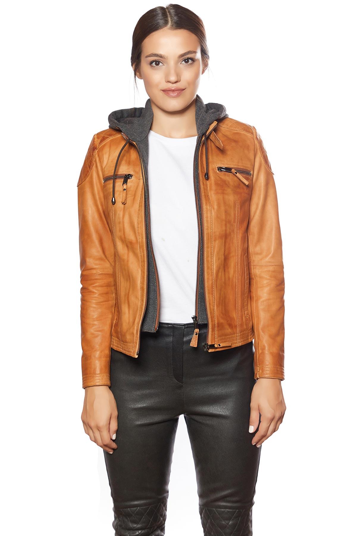 tan suede jacket womens