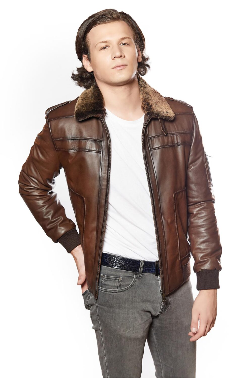 mens leather jackets near me
