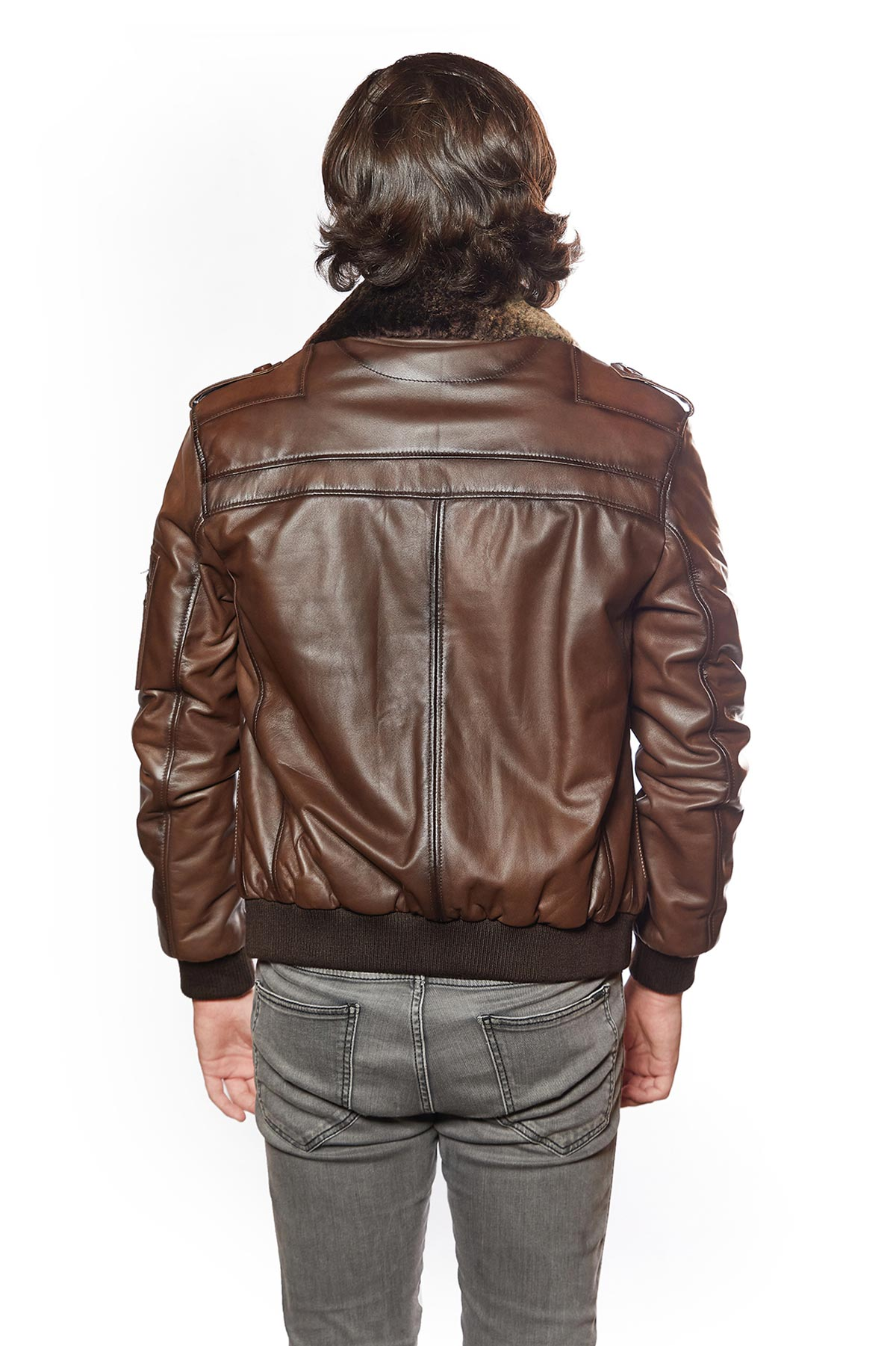 colorful leather jacket mens
