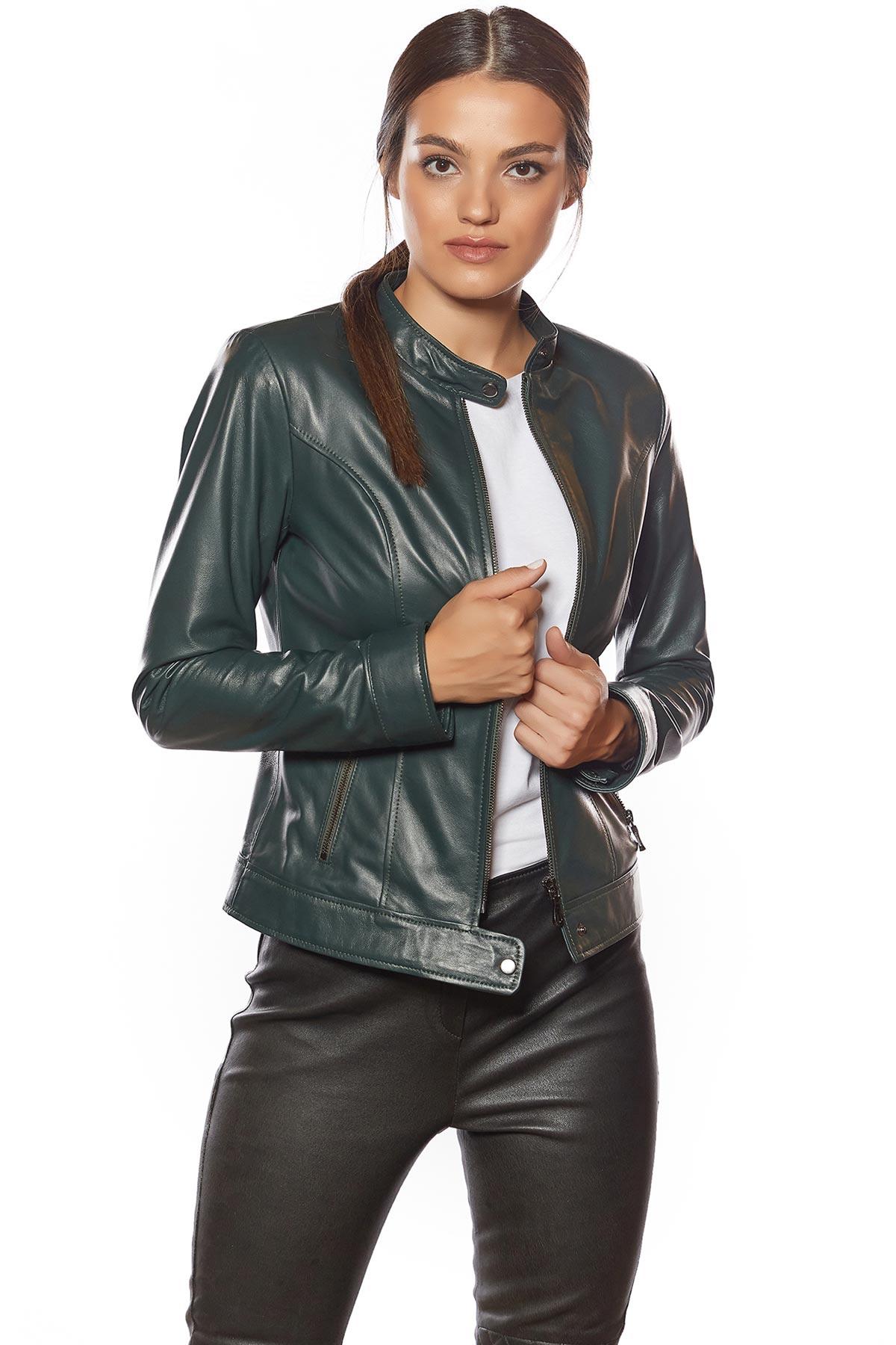 genuine leather jacket canada