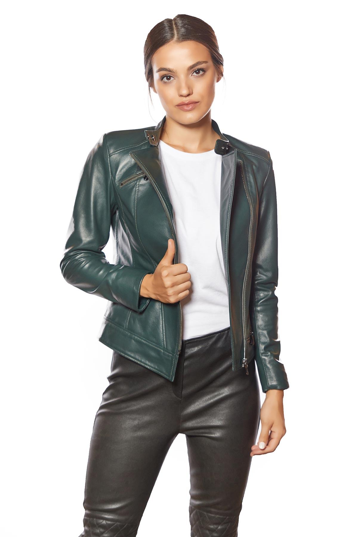 east 5th genuine leather jacket