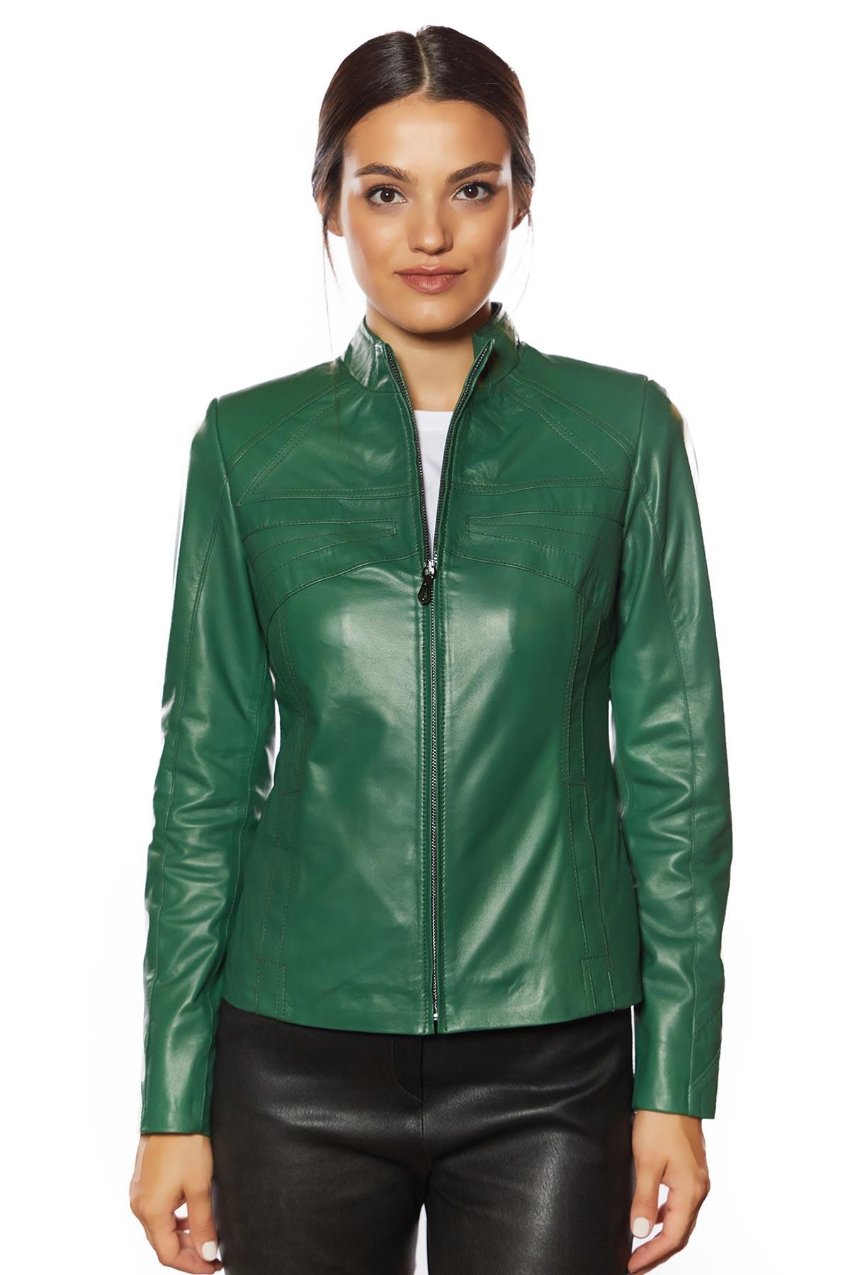 collezione italia leather jacket