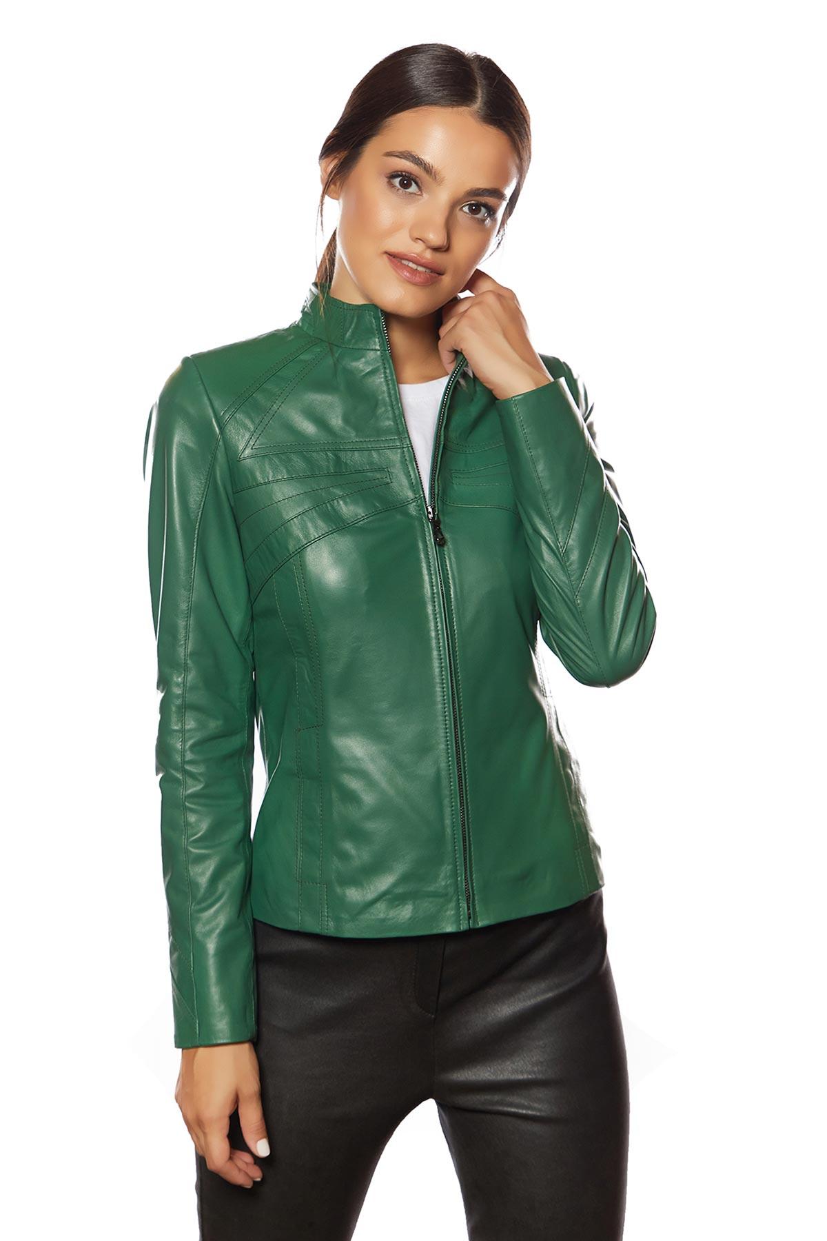 leather works jacket