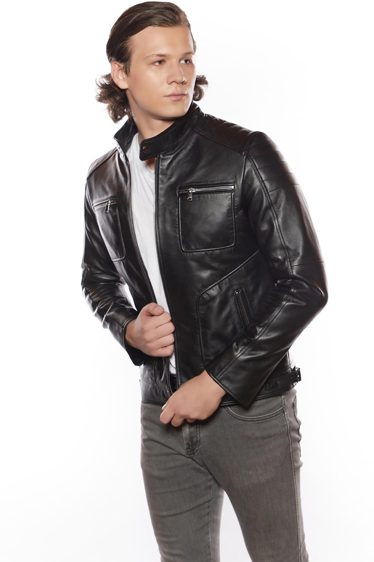 leather jacket buy