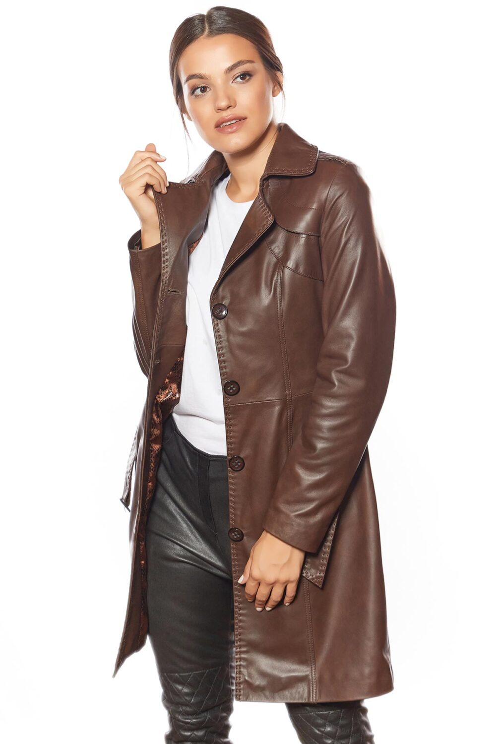 how to buy a leather jacket womens