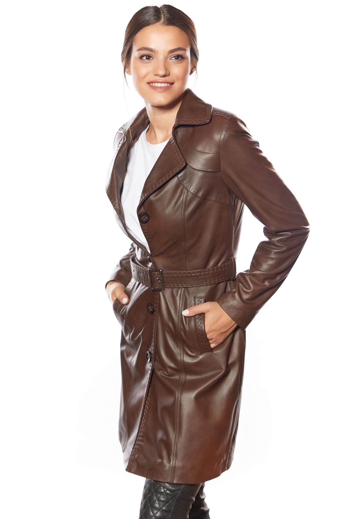 gray lambskin leather jacket womens