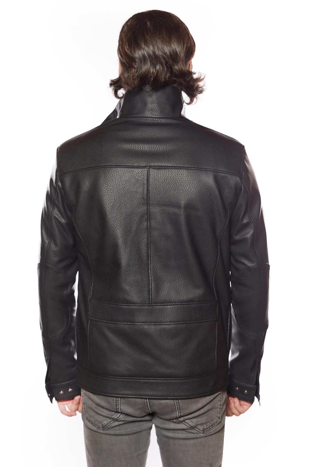 leather jacket mens windbreaker