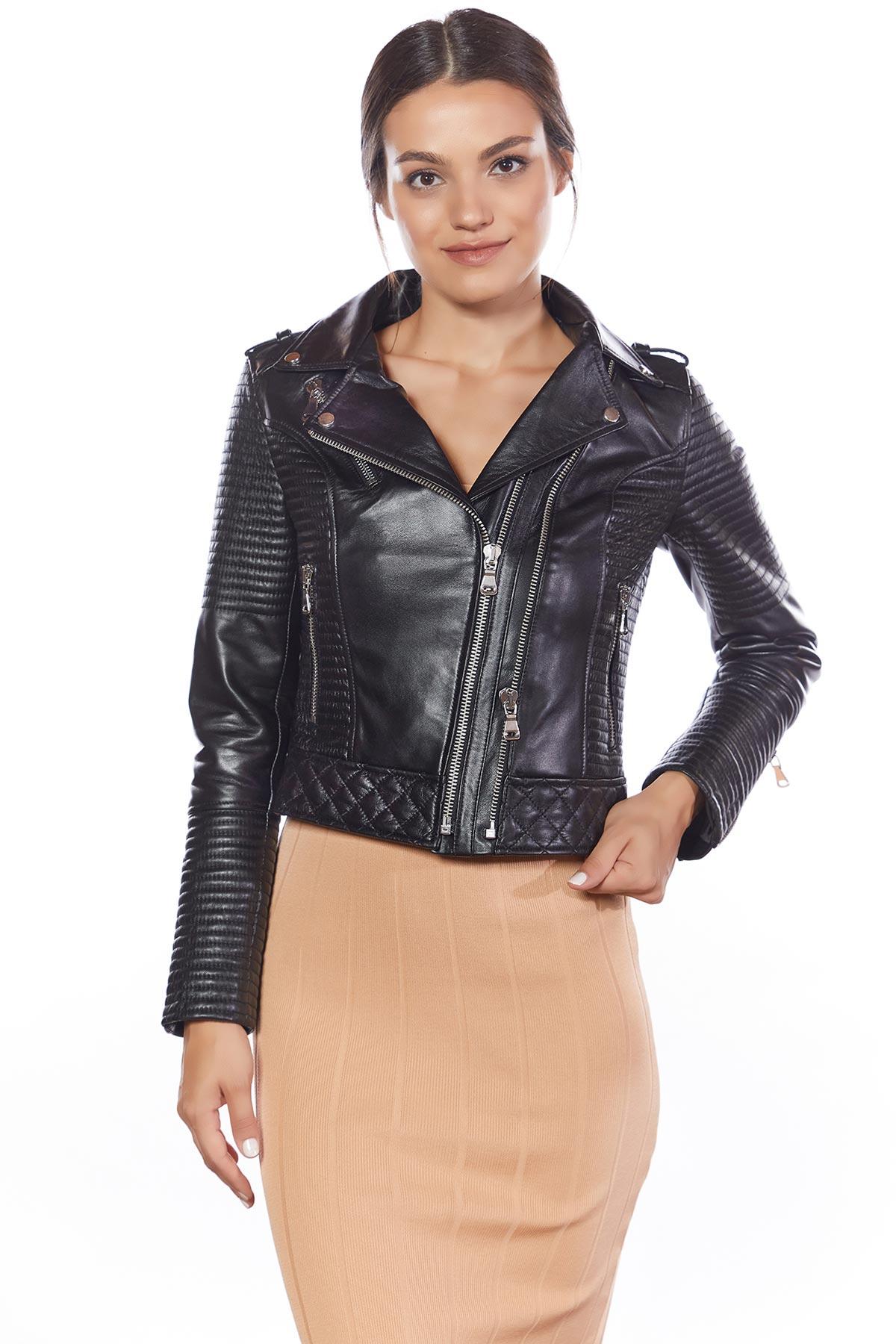 genuine leather jacket rider