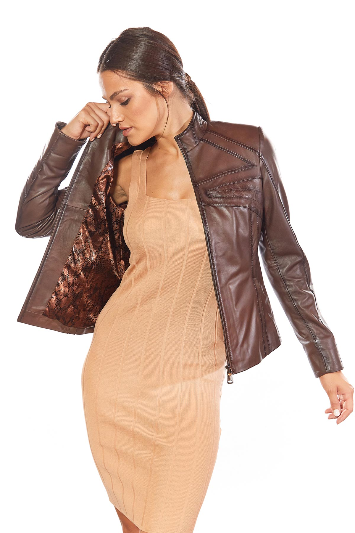 real leather jacket aliexpress