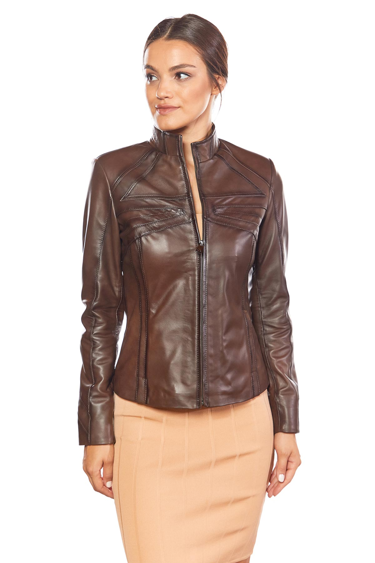 small leather jacket
