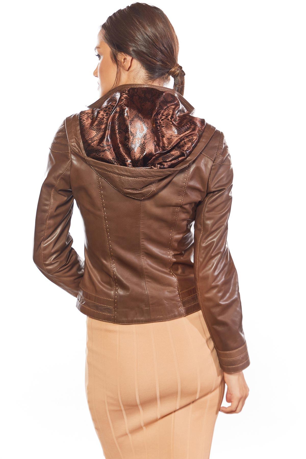 vera pelle genuine leather jacket