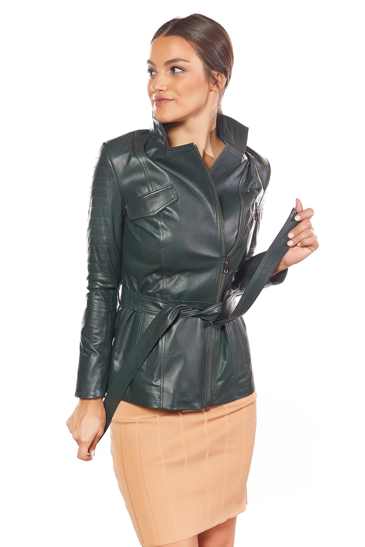soft suede jacket womens