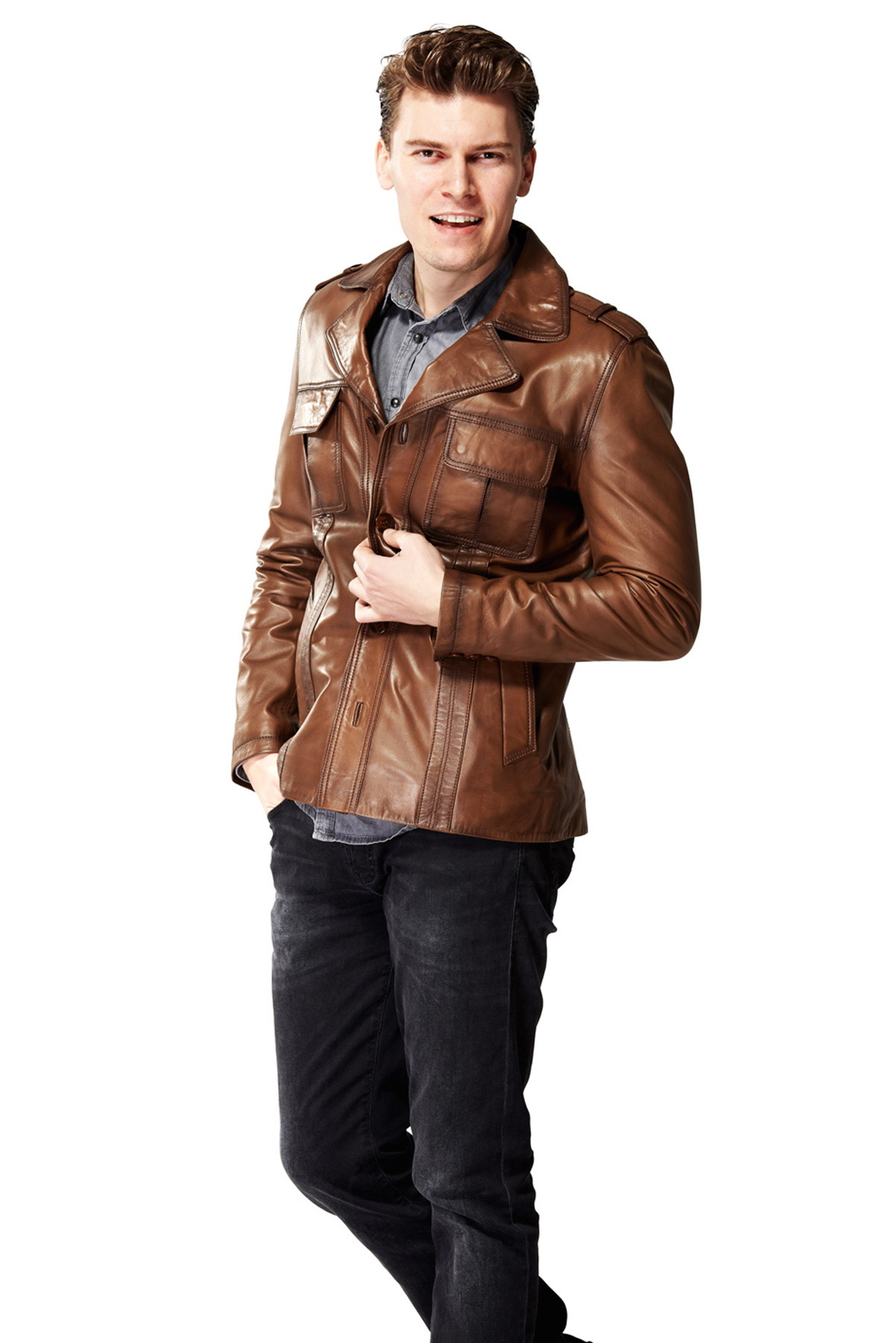 real leather jacket near me