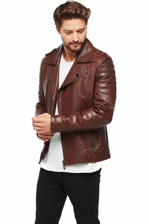 Schott Nyc Mens Leather Jacket
