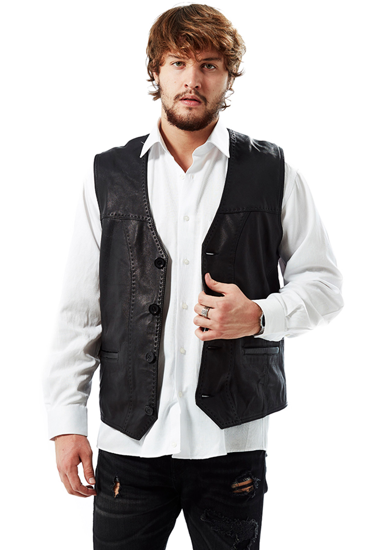 best affordable leather jackets mens