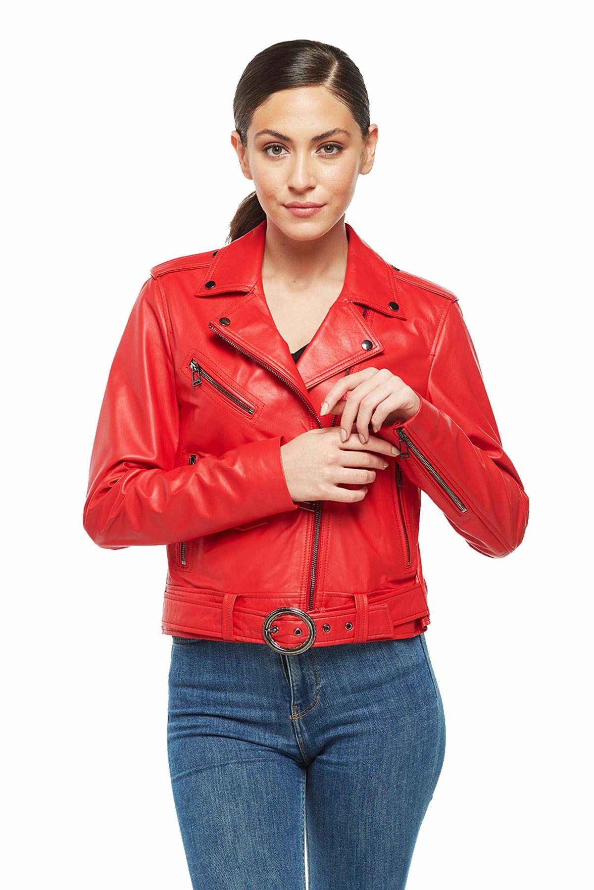 wilson leather blazer
